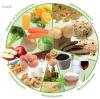 vegetarische schijf van vijf