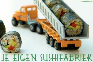 je eigen sushifabriek