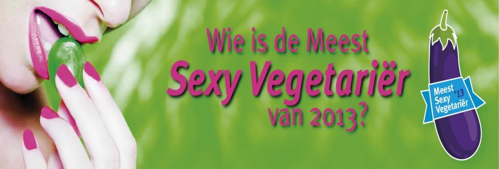 Wie wordt de Meest Sexy Vegetariër van 2013?