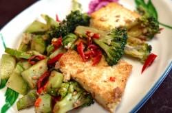Chinese wok met tofu