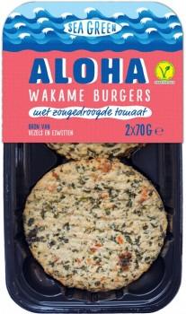 Aloha Wakame burger